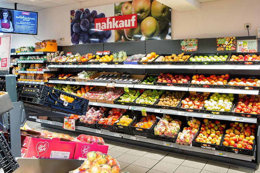 Obst und Gemüse bei nahkauf Hummel